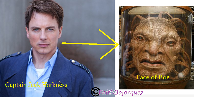 Captain Jack Harkness to Face of Boe - Doctor Who Fan Art (33327442) - Fanpop
