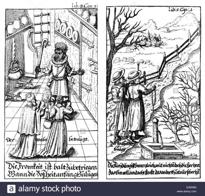 http://www.oanagnostis.gr/wp-content/uploads/2017/10/historic-print-copper-engraving-1671-der-abenteuerliche-simplicissimus-EA8X8N-696x666.jpg
