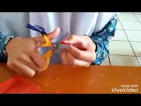 Cara Membuat Bunga dari Kresek
