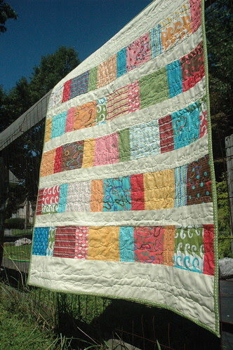 Modern Workshop Baby Quilt