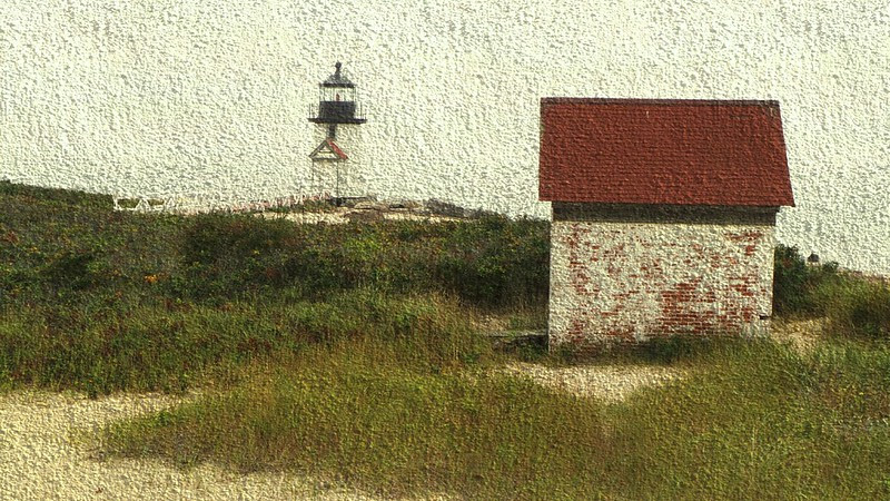 Nantucket: Brant Point Lighthouse and Building