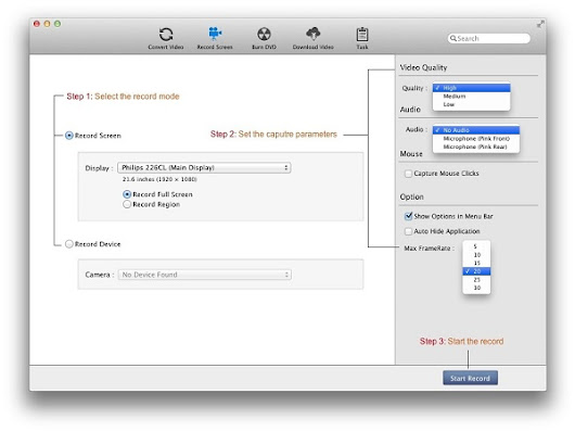 Screen Recording Tool For Mac, video screen capturing software