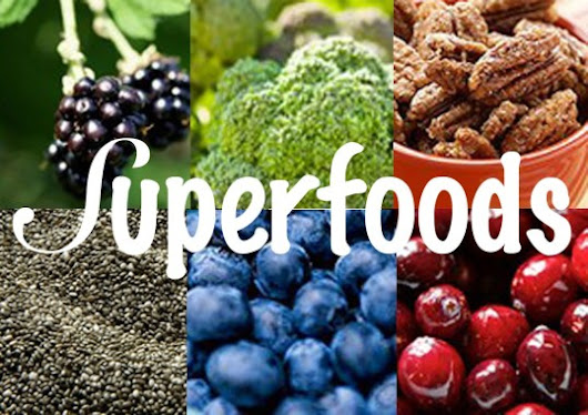 5 Fruits and Vegetables Considered Superfoods - My Green's Daily