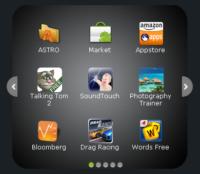 Rearrange BlueStacks' icons at http://outdatedpenanguncle.blogspot.com/