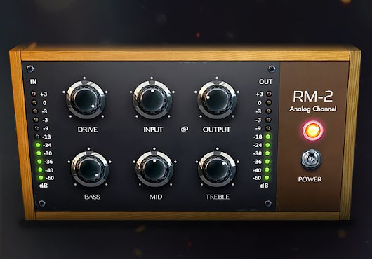 New plug-in: RM-2 Analog Console Emulation