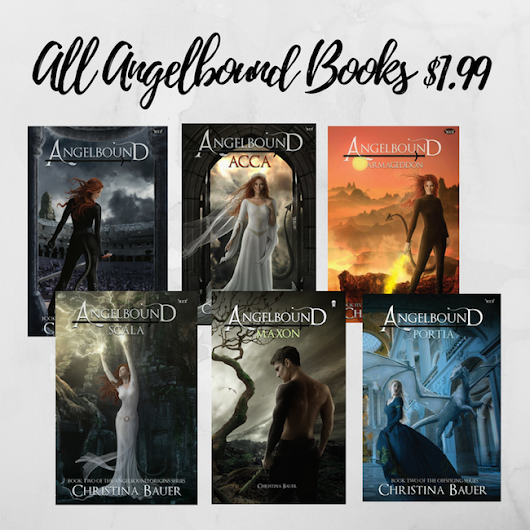 Book Tour: Review & Giveaway: Angelbound by Christina Bauer