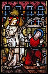 Christ appears to Paul in prison
