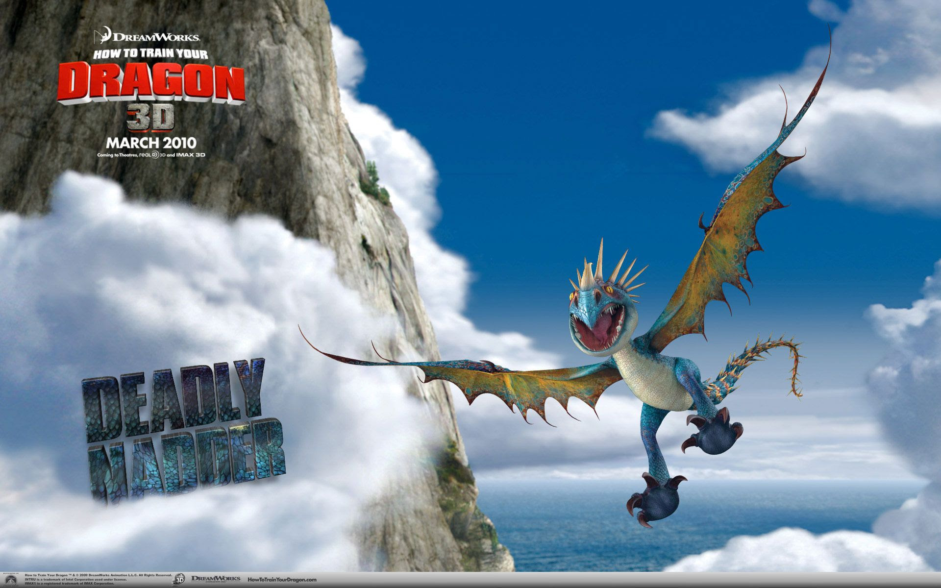 How To Train Your Dragon Film Movies 07 Hd Wallpaper Desktop