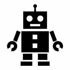 Sfロボットシルエット イラストの無料ダウンロードサイトシルエットac