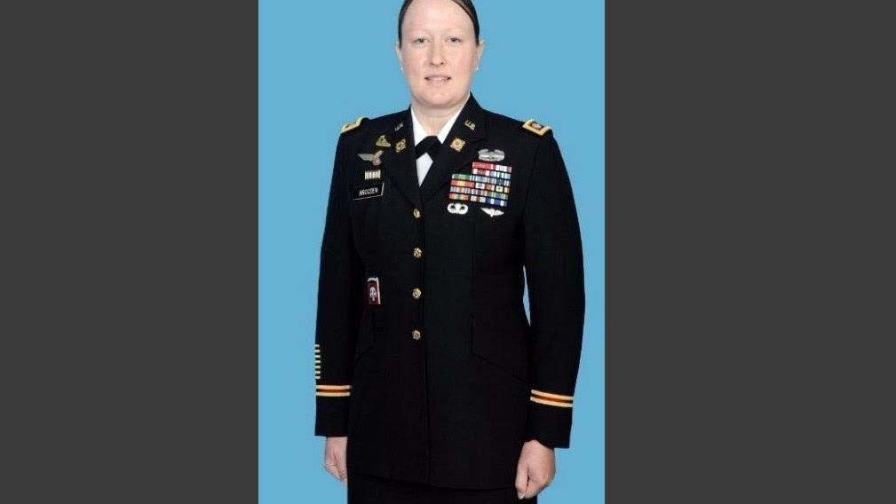 Image result for Lt. Col. Megan Brogden picture
