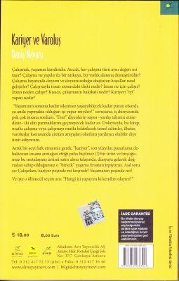 Kariyer ve Varoluş Daniş Navaro Meslek seçiminde ilkeler Elma yayınevi