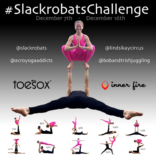 Time For Another #SlackrobatsChallenge! Get ready to WIN.
