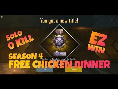 Get PUBG Chicken Dinner Trick 2021   How to Get Free Chicken Dinner in Pubg Lite