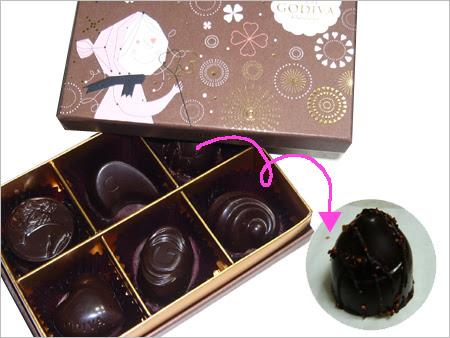 2012,バレンタインチョコレート,モンダムール ダークアソートメント,ゴディバ