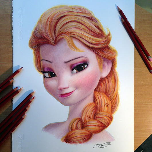 Image: 1000+ images about FROZEN drawings Elsa and Anna on Pinterest ...