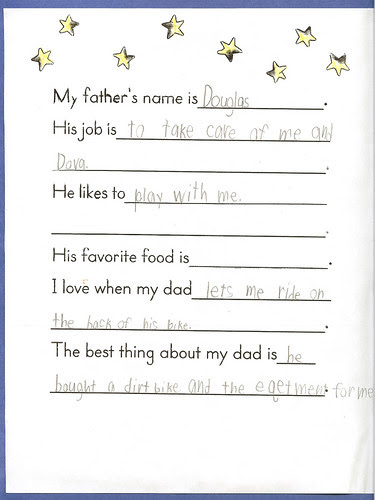Adam Fathers Day card