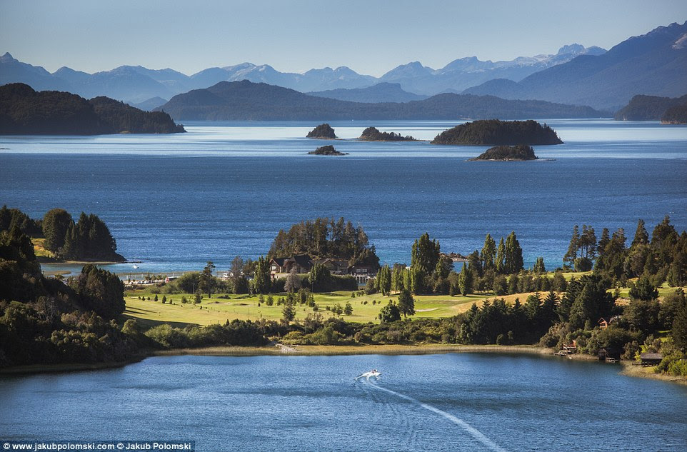 Bariloche in  Argentina looks every inch the exclusive hideaway resort we all crave to stay in, with stunning views