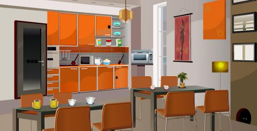 Smile Clicker – Kitchen Room Escape - Walkthrough, comments and