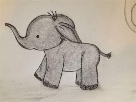 lifelooklens baby elephant drawings brainstorming  nursery