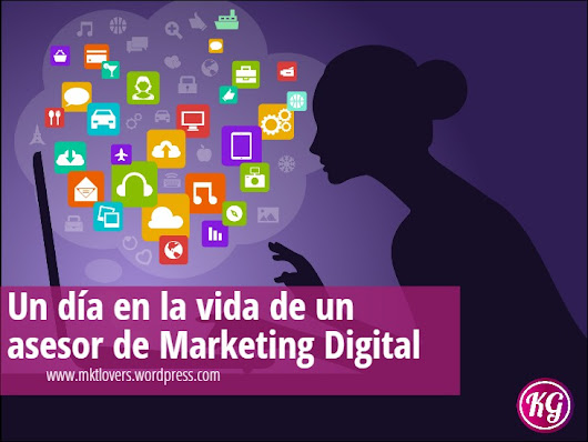 Un día en la vida de un asesor de marketing digital....#SocialMedia #CM