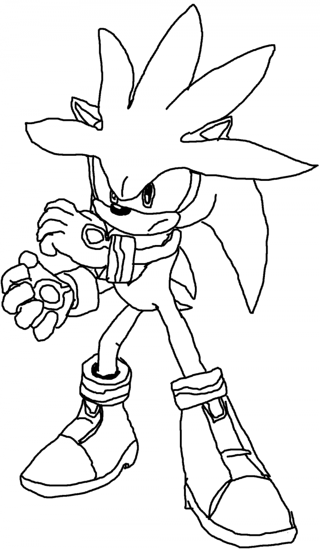 Shadow The Hedgehog Coloring Pages - Coloring Home