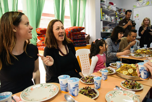 What it's like to visit a Syrian refugee centre in Istanbul