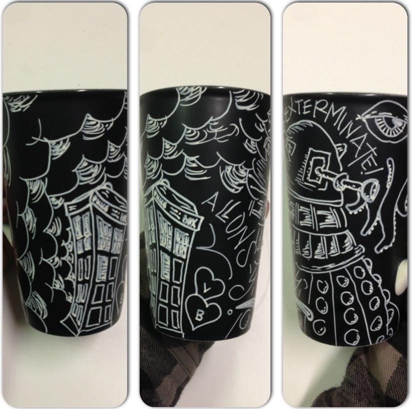 Vladzillacom My New Custom Doctor Who Coffee Mug