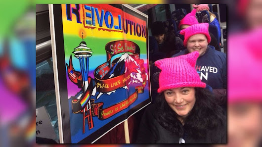 Real-time updates from Women's Marches around Puget Sound