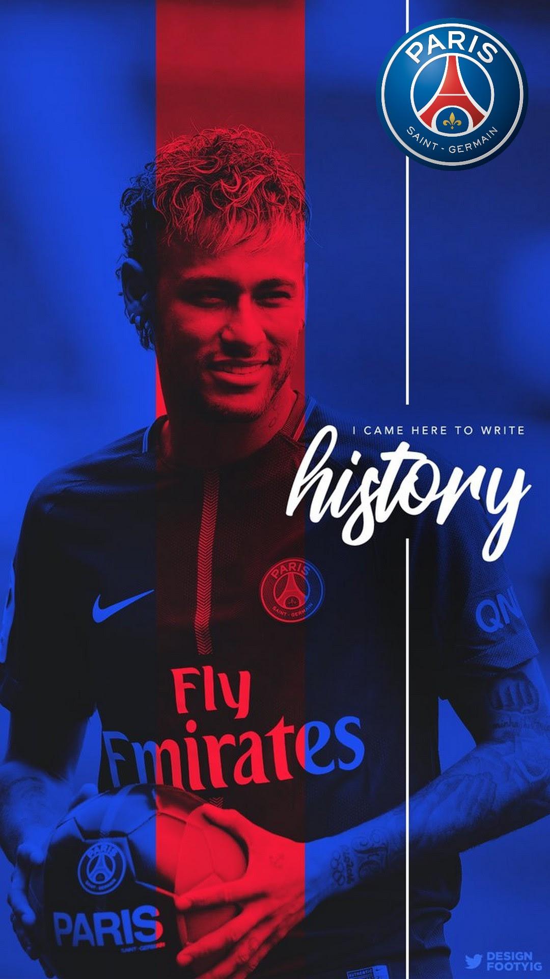 Neymar PSG HD Wallpaper For iPhone   2019 Football Wallpaper
