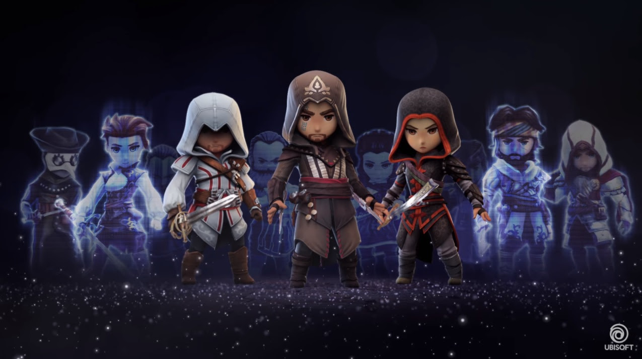 The new Assassin's Creed mobile game will kill you with cuteness screenshot