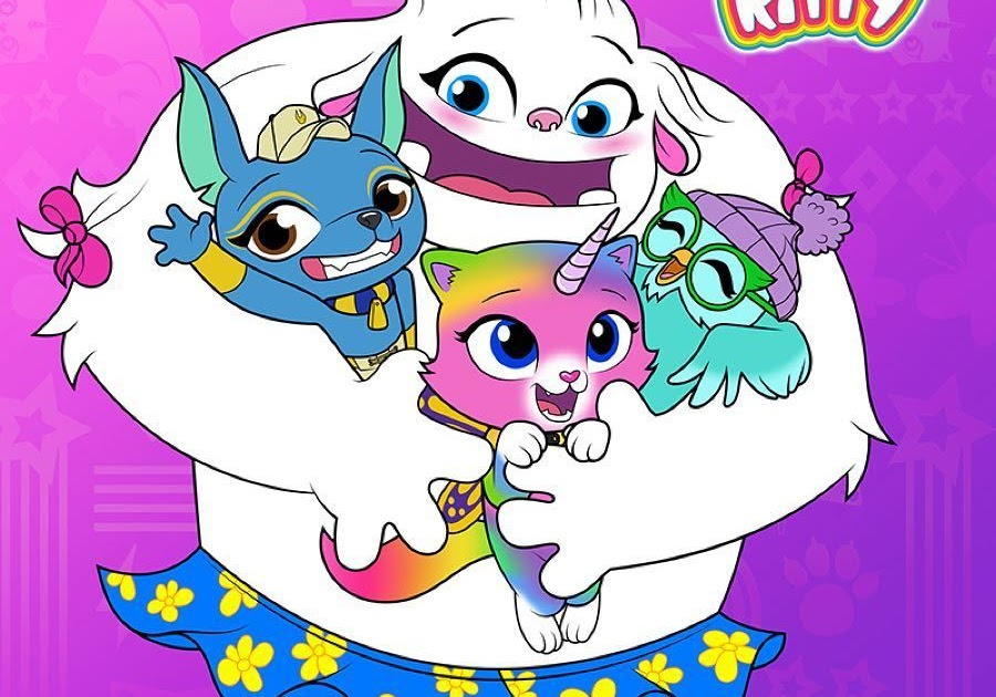 35 Rainbow Butterfly Unicorn Kitty Coloring Pages - Free ...