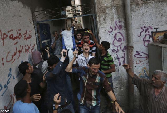 Serangan Darat Mengiringi Pemergian MH 17 Di GAZA