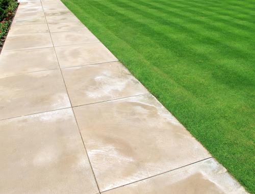 concrete pavers efflorescence