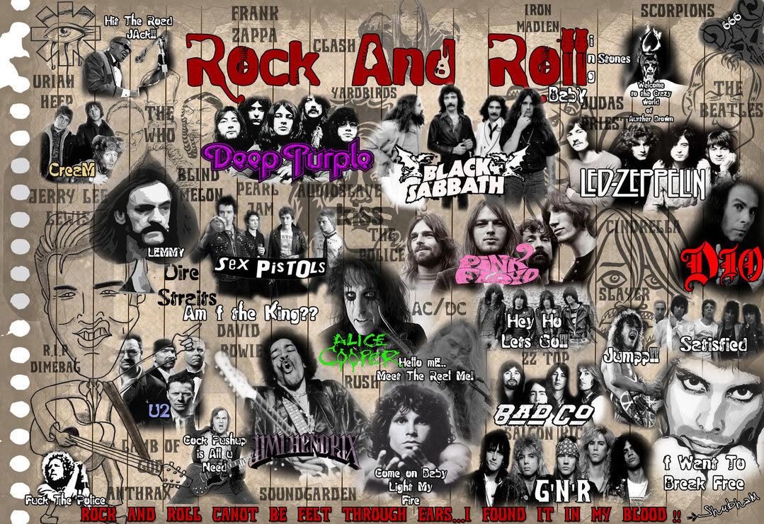 Rock And Roll Wallpaper Sf Wallpaper