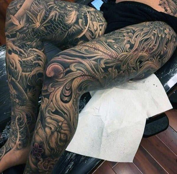 50 Japanese Tattoos For Men Masculine Motifs