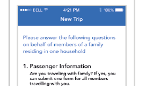 Filling out your Customs forms? There's an app for that ...
