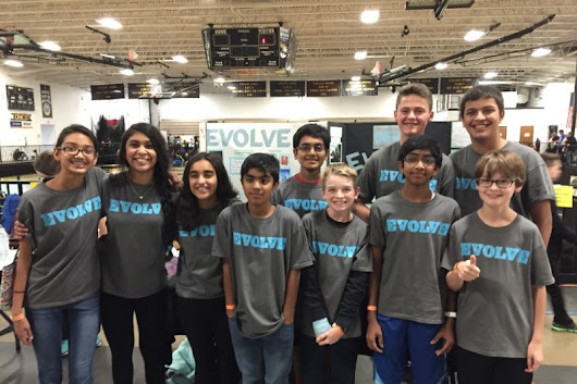 Click here to support Help Robotics Team EVOLVE Travel by TJ Seaberg