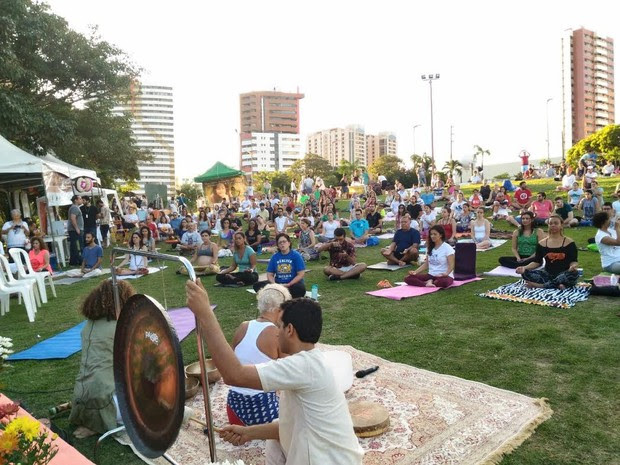 Evento pretende reunir centenas de pessoas no Anfitetro do Parque do Cocó (Foto: Divulgação)