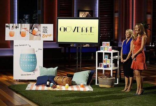 How Two Moms Invented A Sippy Cup For Wine, Figured Out Kickstarter And Landed A Shark Tank Deal