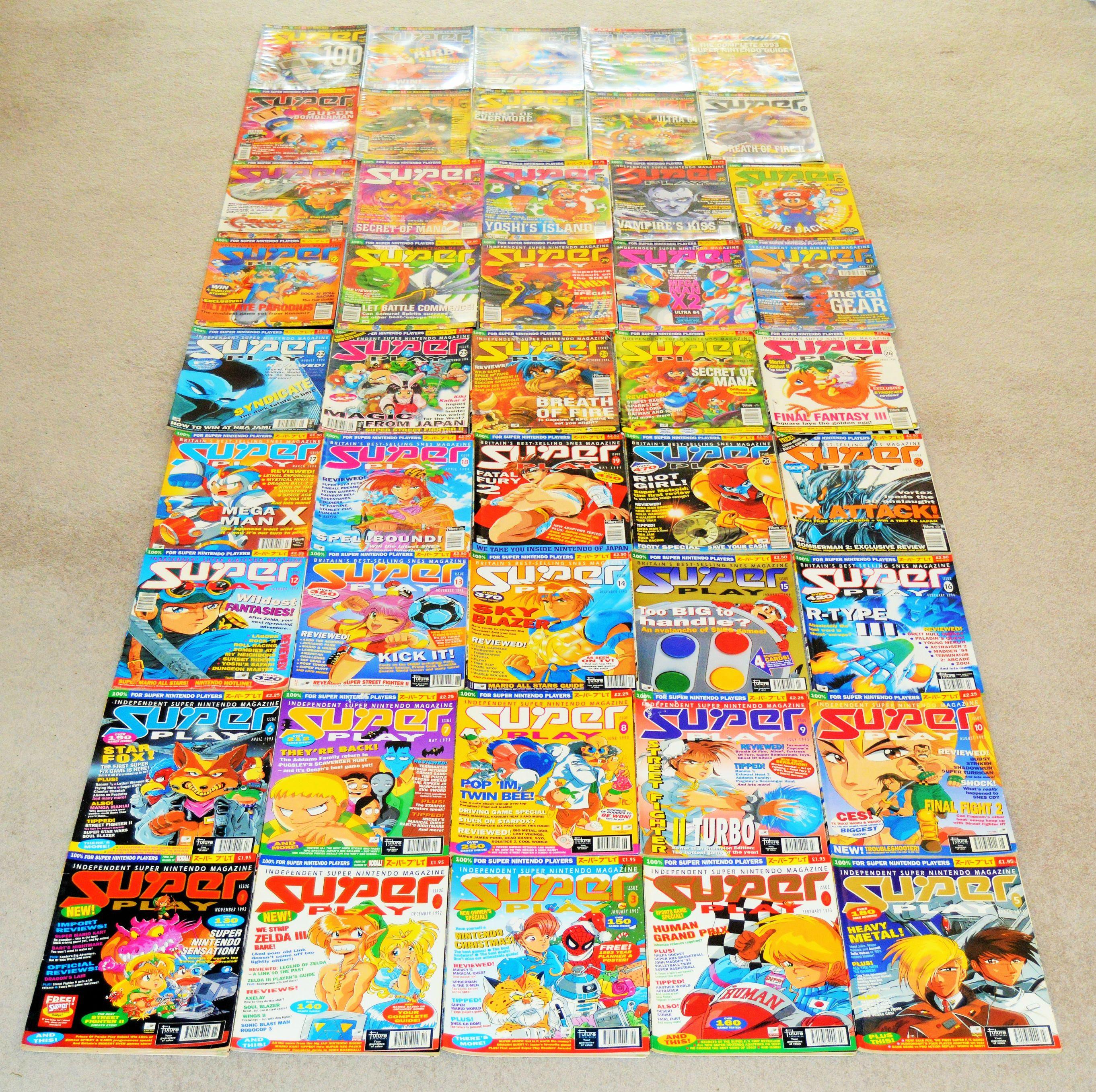 Super Play, Retrogaming, Wil Overton, Super Nintendo