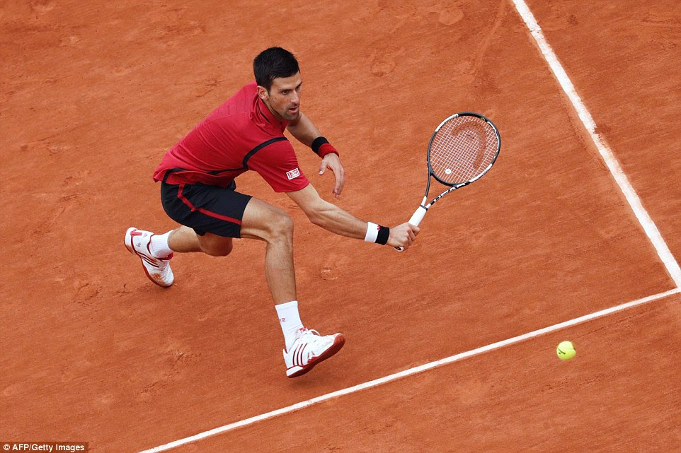 But Djokovic's response was superb and he raised the level of his game after falling behind in the opening stages