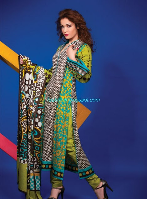 Al-Karam-Textile-Summer-Spring-Lawn-Collection-2013-14-Indian-Pakistani-New-Fashionable-Clothes-17