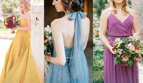 Top 10 Pantone Fall Wedding Colors for Bridesmaid Dresses