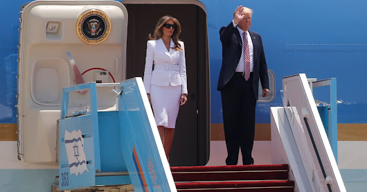Watch Melania Trump Swat Donald Away When He Tries To Hold Her Hand