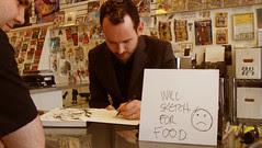 Treasure Island Comics Signing