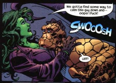 Thing/She-Hulk: The Long Night