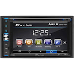 "Planet Audio - 6.2"" - Bluetooth - In-Dash DVD Receiver - Black"