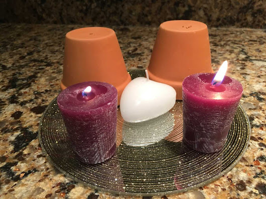 The Anti-Advent Wreath – week 2 – Separation - At the Table with April Fiet