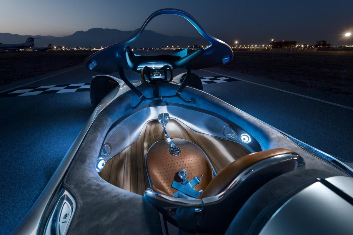 Electrified Mercedes Vision EQ Silver Arrow - Supercar ...