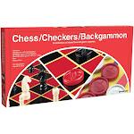 Chess/Checkers/Backgammon - Pressman Toys